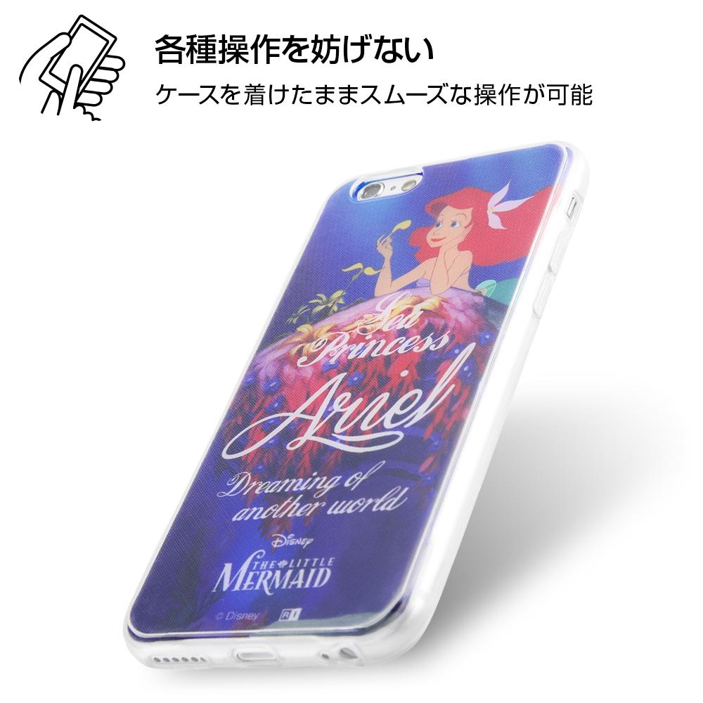 iPhone 6s / 6 /『ディズニーキャラクター』/TPUケース+背面パネル/『リトル・マーメイド/冒険の一歩』【受注生産】