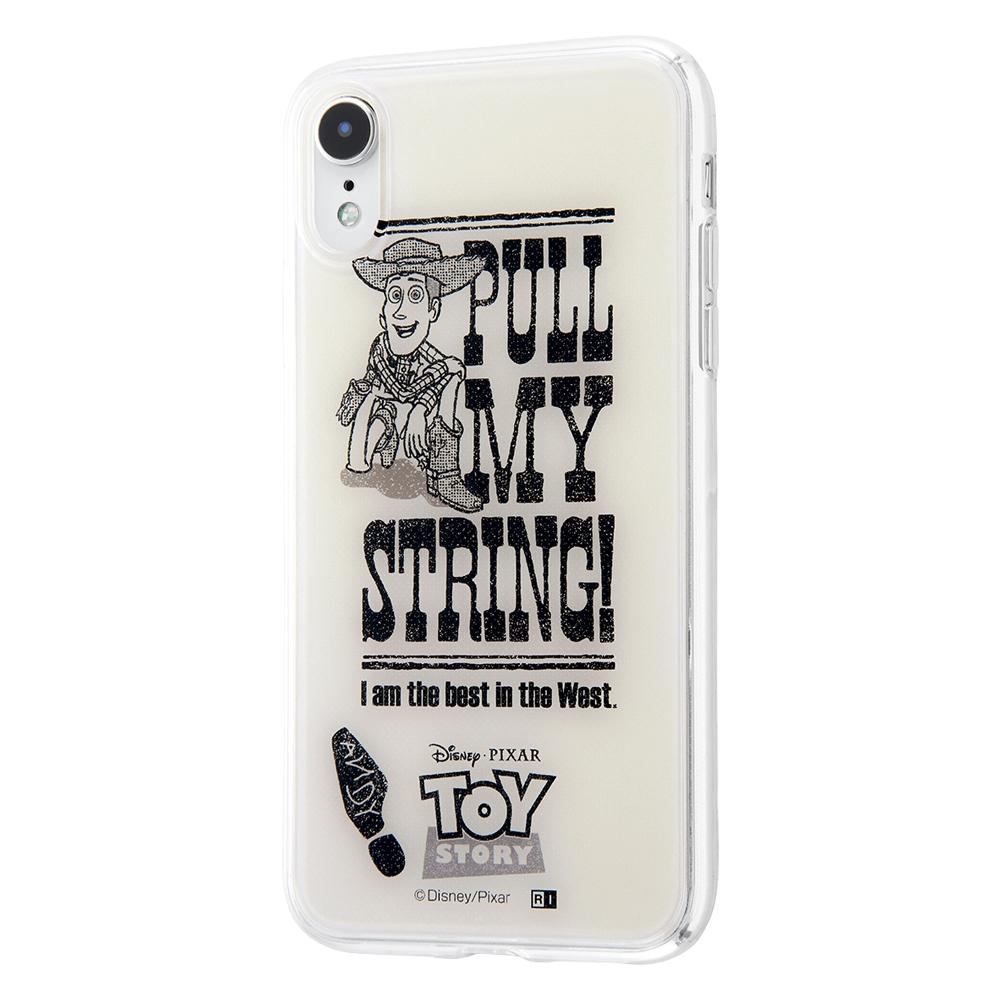 iPhone XR /『トイ・ストーリー』/TPUケース+背面パネル/『ウッディ/Hands up!』【受注生産】