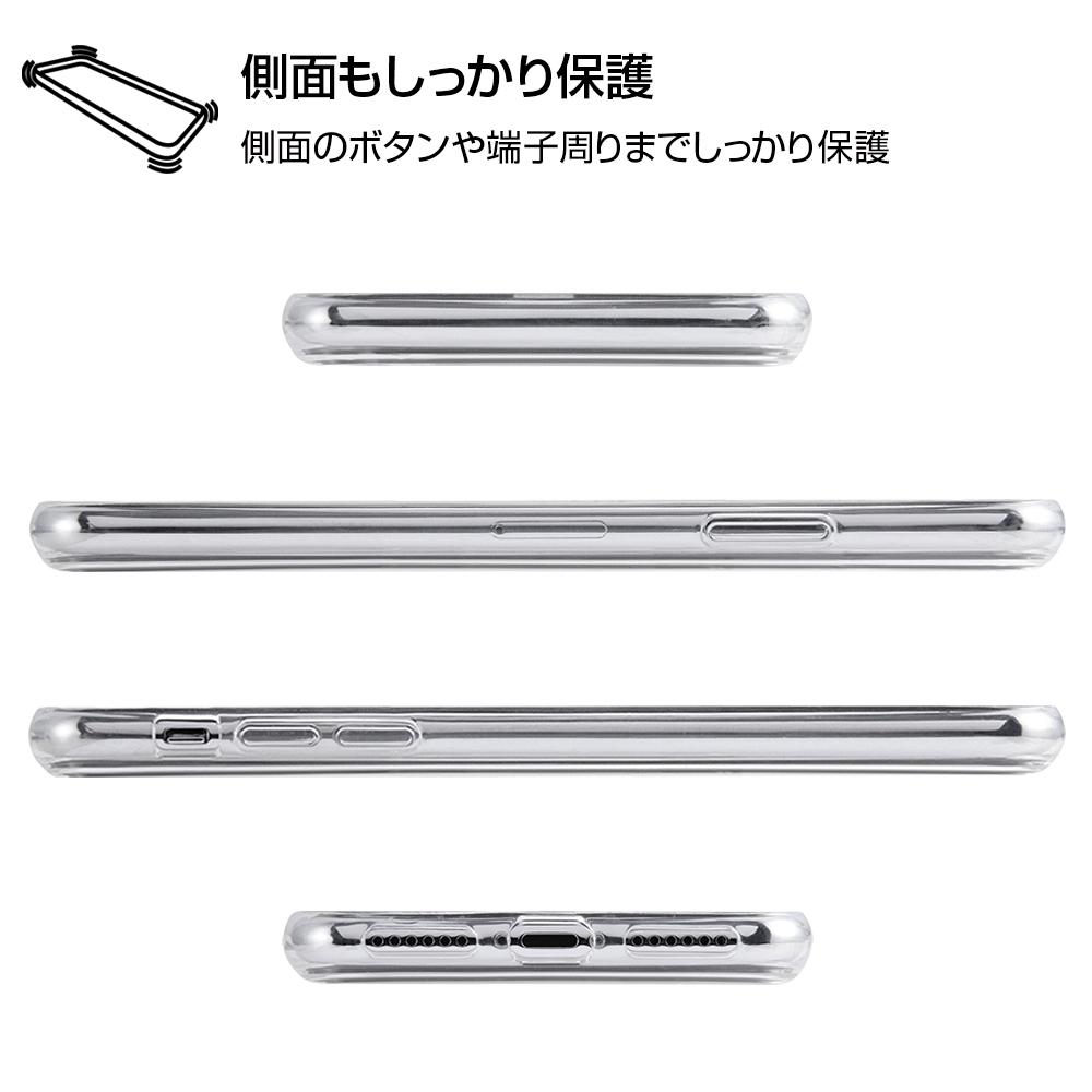 iPhone XS / X /『ディズニーキャラクター』/TPUケース+背面パネル/『アラジン/総柄』【受注生産】