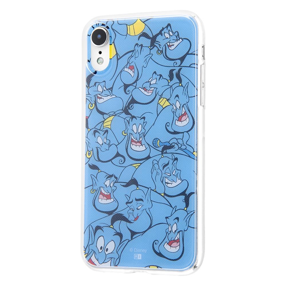 iPhone XR /『ディズニーキャラクター』/TPUケース+背面パネル/『アラジン/総柄』【受注生産】