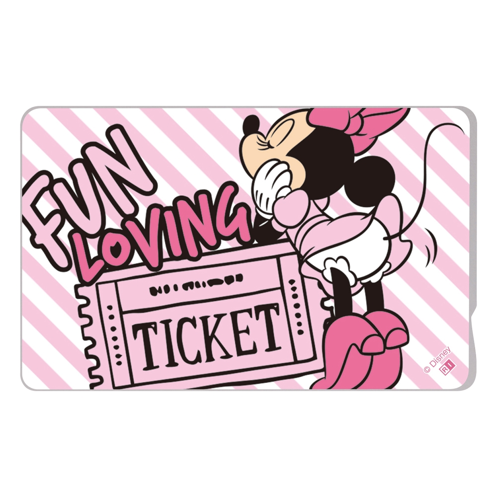 『ディズニーキャラクター』/ICカードステッカー/『ミニーマウス/Bum Bum』