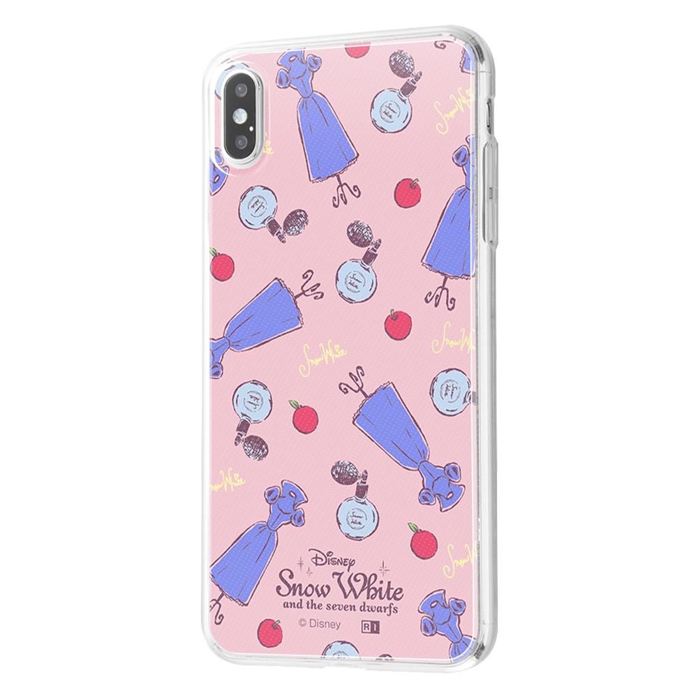 iPhone XS Max /『ディズニーキャラクター』/TPUケース+背面パネル/『白雪姫/パウダールーム』【受注生産】