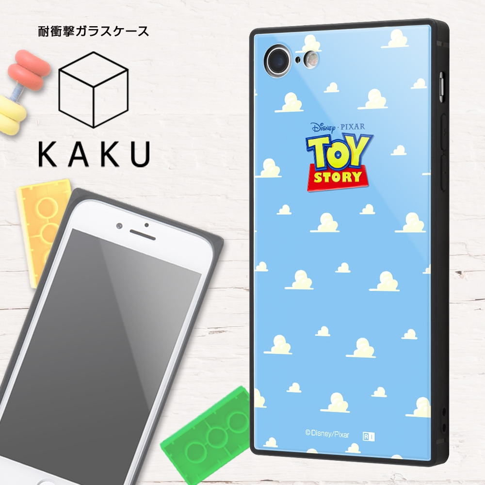 iPhone SE(第2世代)/8/7/『ディズニー・ピクサーキャラクター OTONA』/耐衝撃ガラスケース KAKU/『トイ・ストーリー』_24【受注生産】