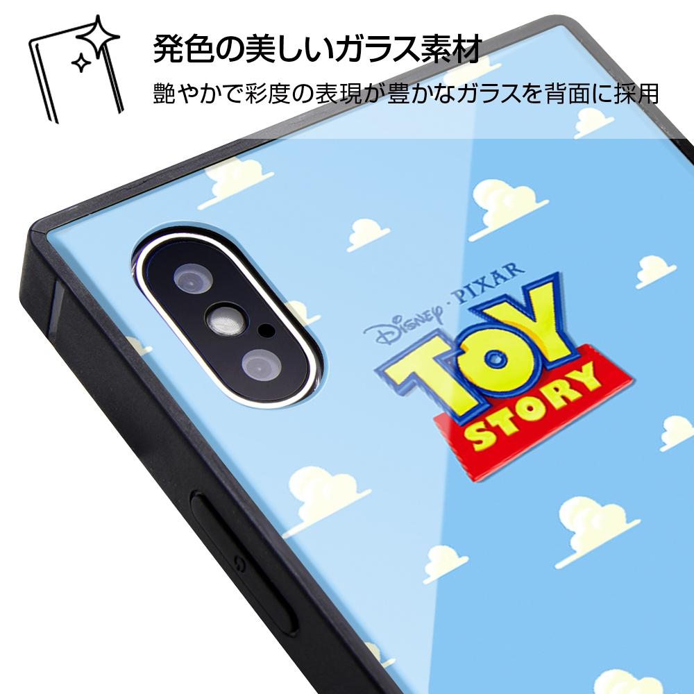 iPhone XS / X /『ディズニー・ピクサーキャラクター OTONA』/耐衝撃ガラスケース KAKU/『モンスターズ・インク』_22【受注生産】