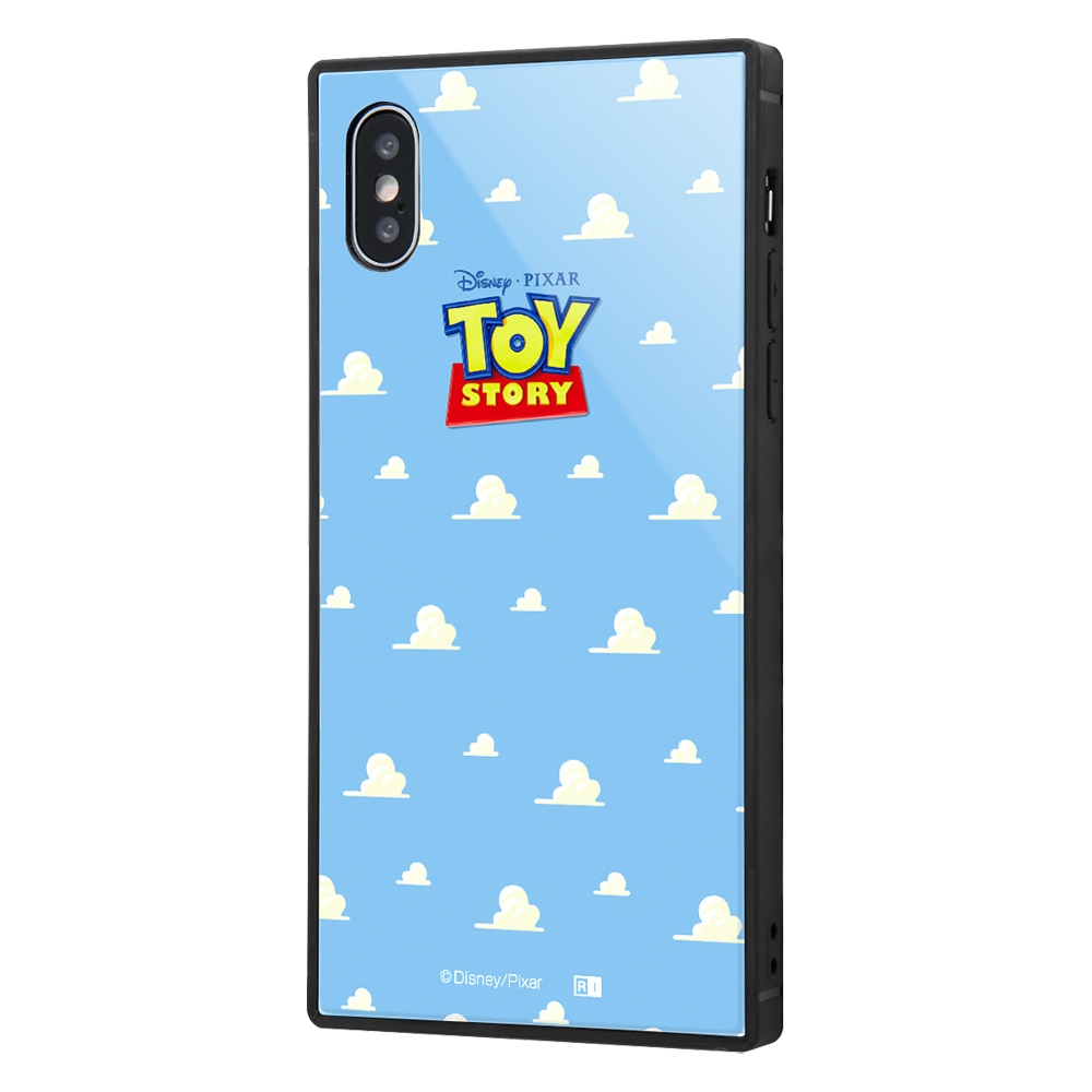 iPhone XS / X /『ディズニー・ピクサーキャラクター』/耐衝撃ガラスケース KAKU/『トイ・ストーリー』_25【受注生産】