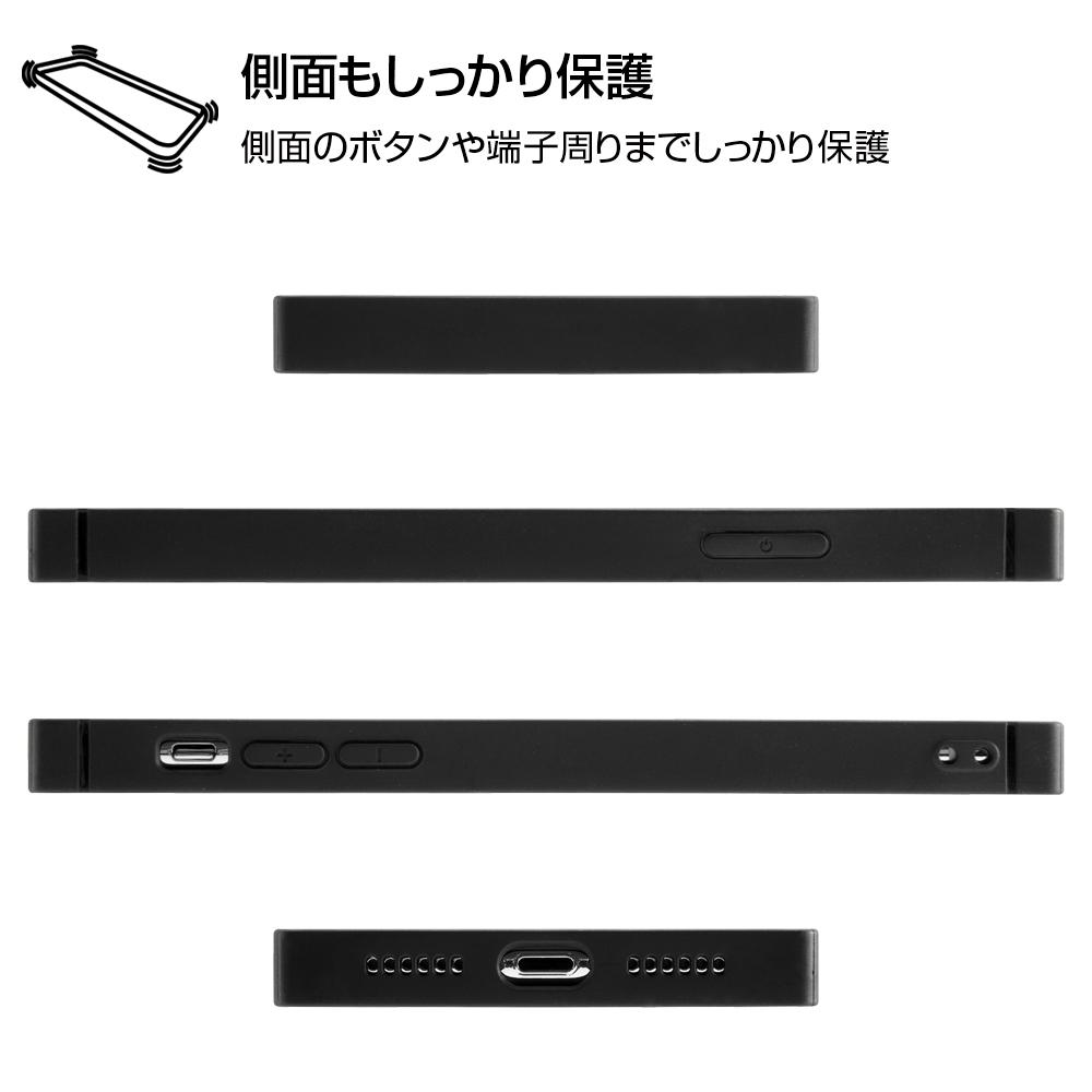 iPhone XS / X /『ディズニーキャラクター』/耐衝撃ガラスケース KAKU/『ドナルドダック/I AM』【受注生産】