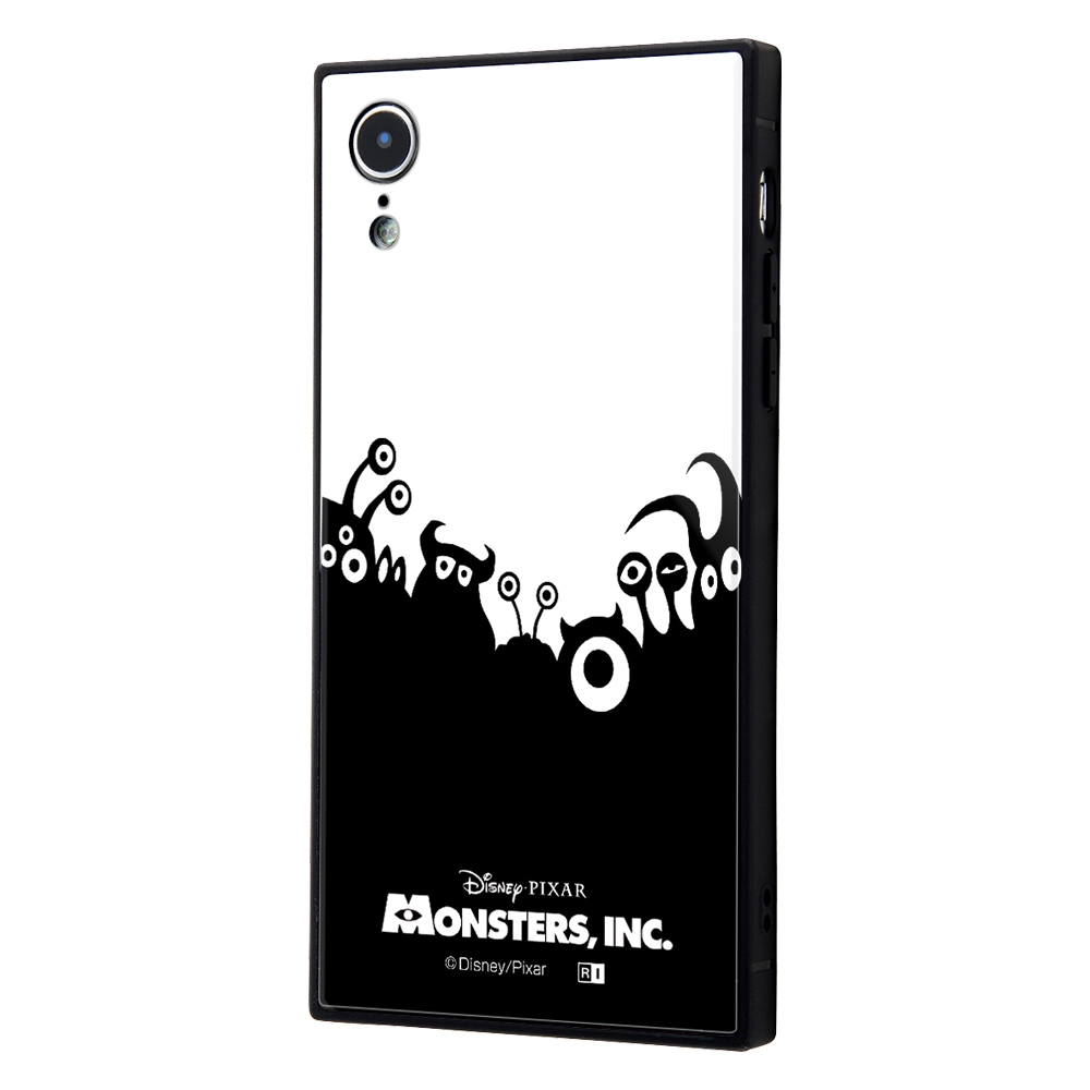 iPhone XR /『ディズニー・ピクサーキャラクター OTONA』/耐衝撃ガラスケース KAKU/『モンスターズ・インク』_22【受注生産】