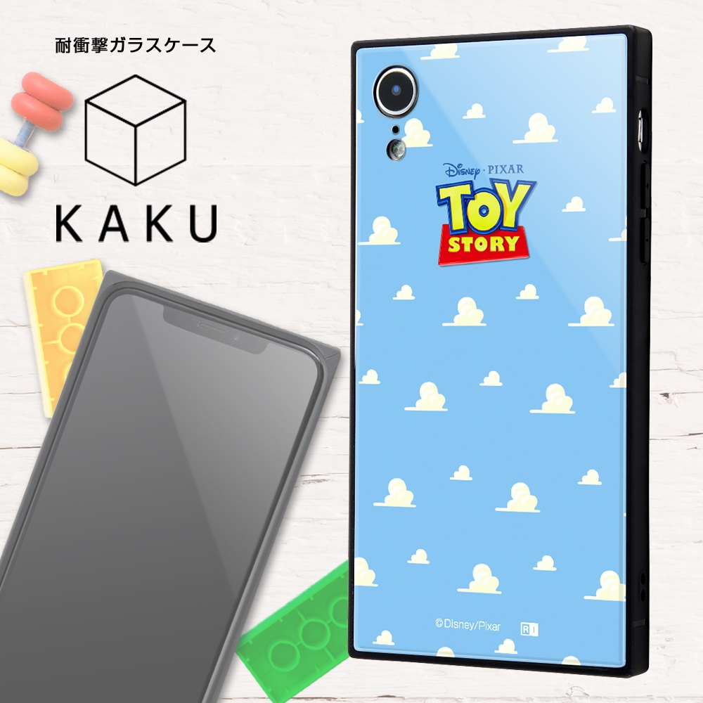 iPhone XR /『ディズニー・ピクサーキャラクター』/耐衝撃ガラスケース KAKU/『トイ・ストーリー』_25【受注生産】