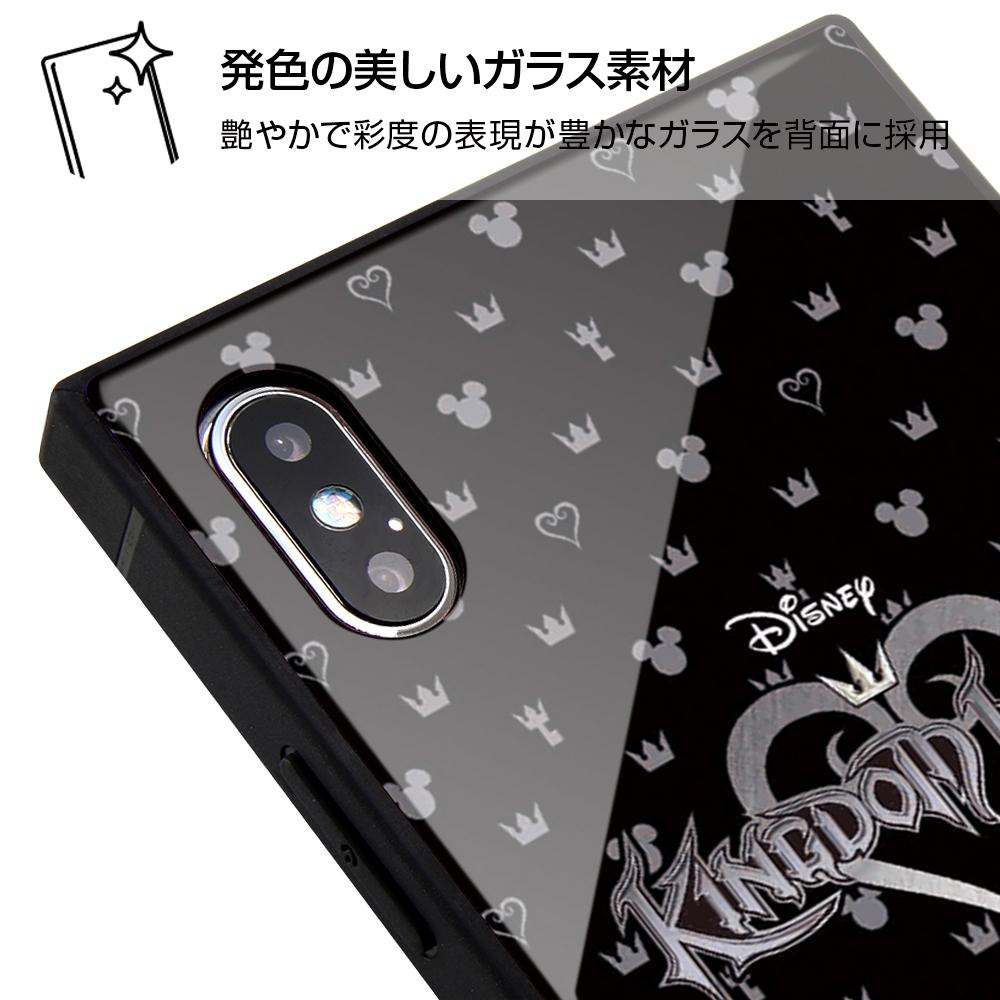 iPhone XS Max /『キングダム ハーツ』/耐衝撃ガラスケース KAKU/『キングダムハーツ』_6【受注生産】