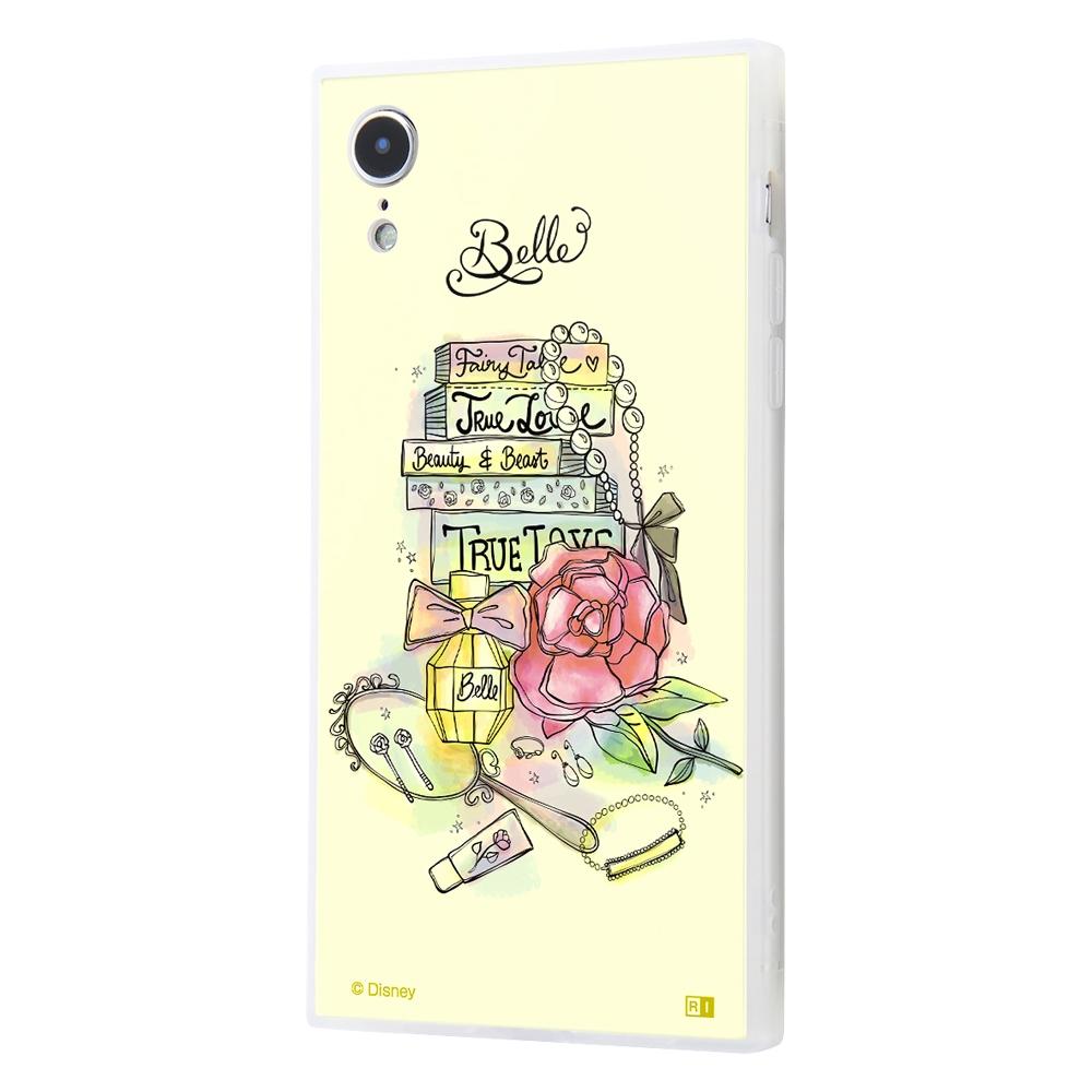 iPhone XR /『ディズニーキャラクター OTONA』/耐衝撃ガラスケース KAKU SILK/『ベル/OTONA Princess』【受注生産】