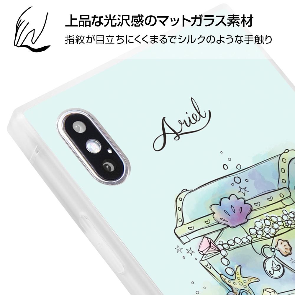 iPhone XS Max /『ディズニーキャラクター OTONA』/耐衝撃ガラスケース KAKU SILK/『白雪姫/OTONA Princess』【受注生産】