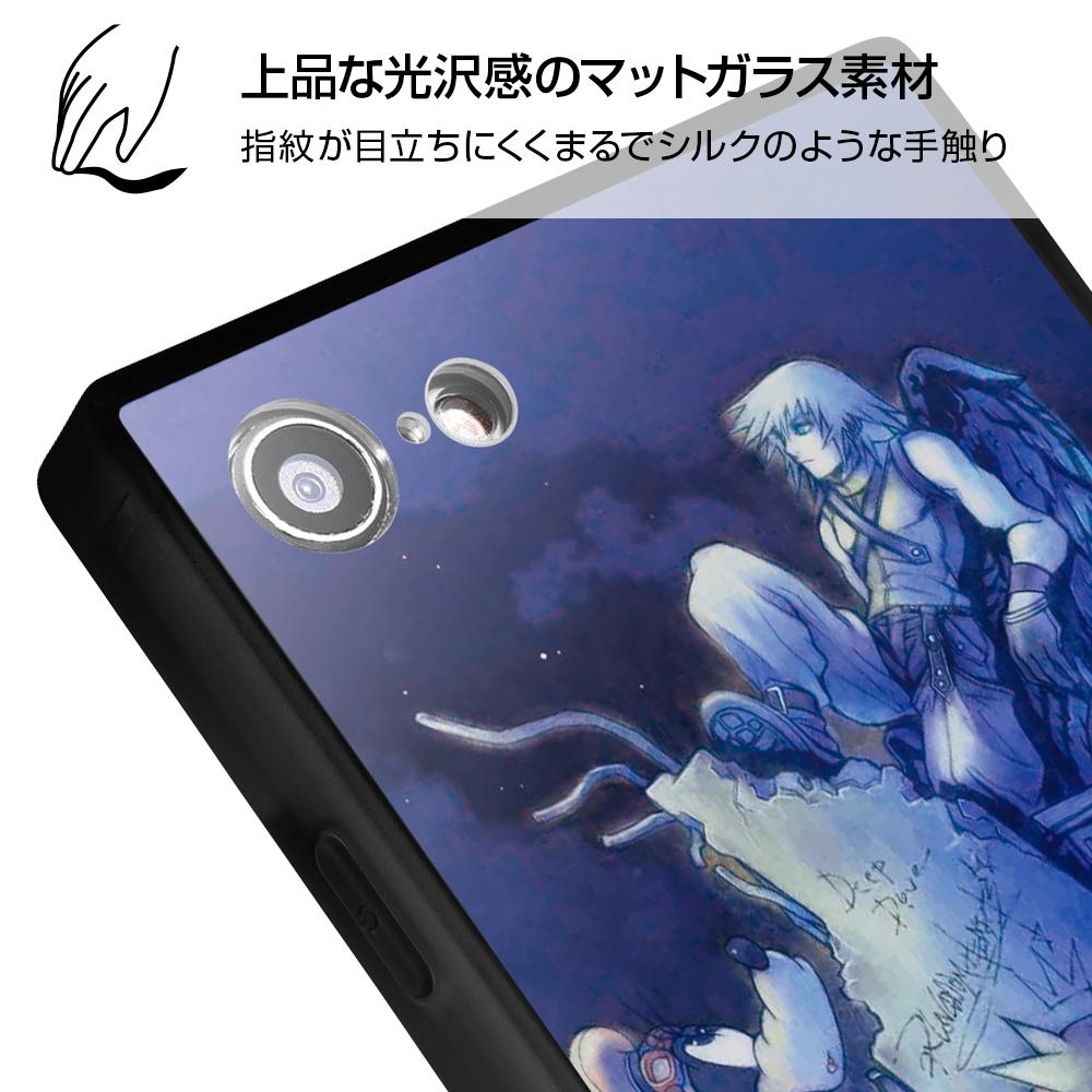 iPhone SE(第2世代)/8/7/『キングダムハーツ』/耐衝撃ガラスケース KAKU SILK/『キングダムハーツ/道しるべ』【受注生産】