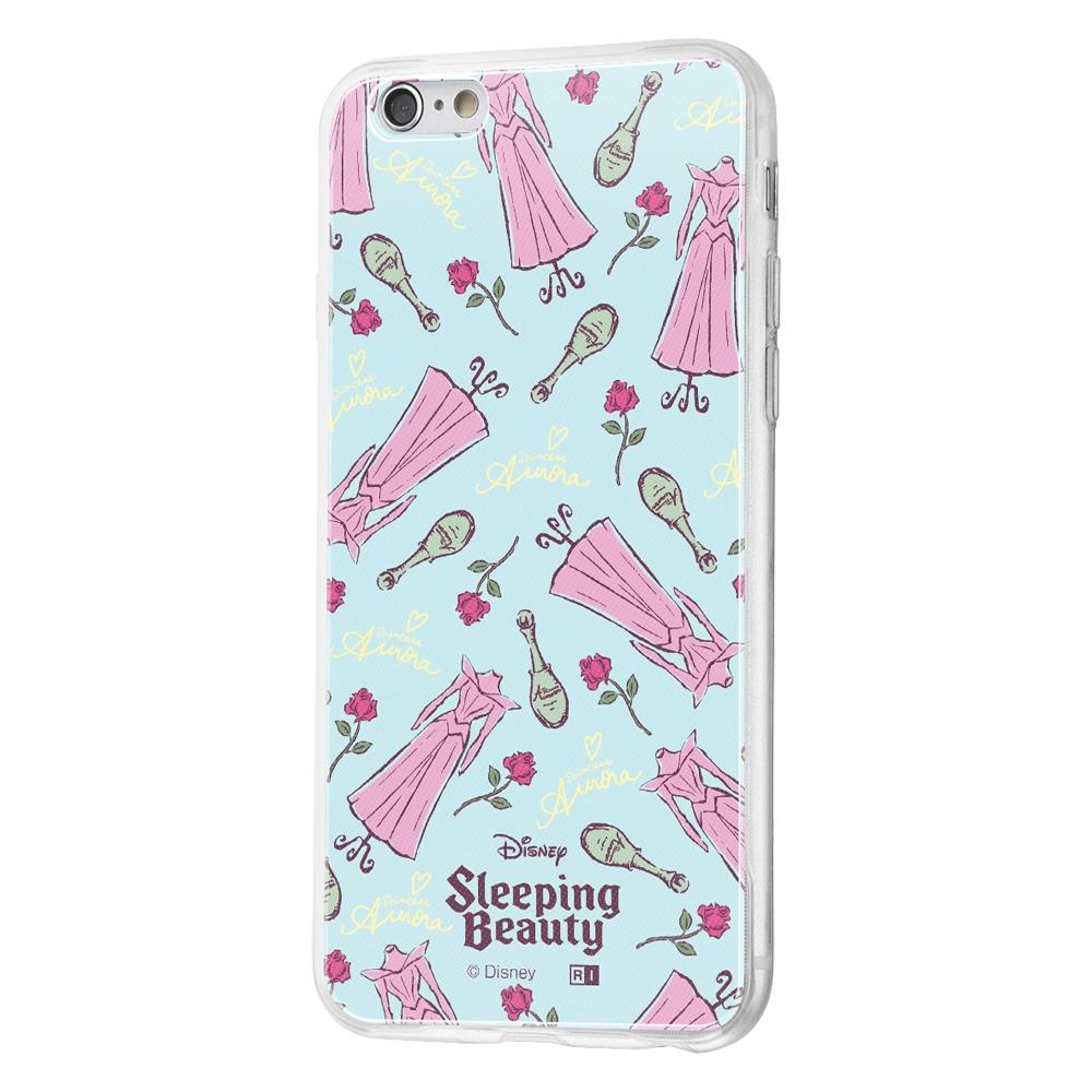 iPhone 6s / 6 /『ディズニーキャラクター』/TPUケース+背面パネル/『眠れる森の美女/パウダールーム』【受注生産】