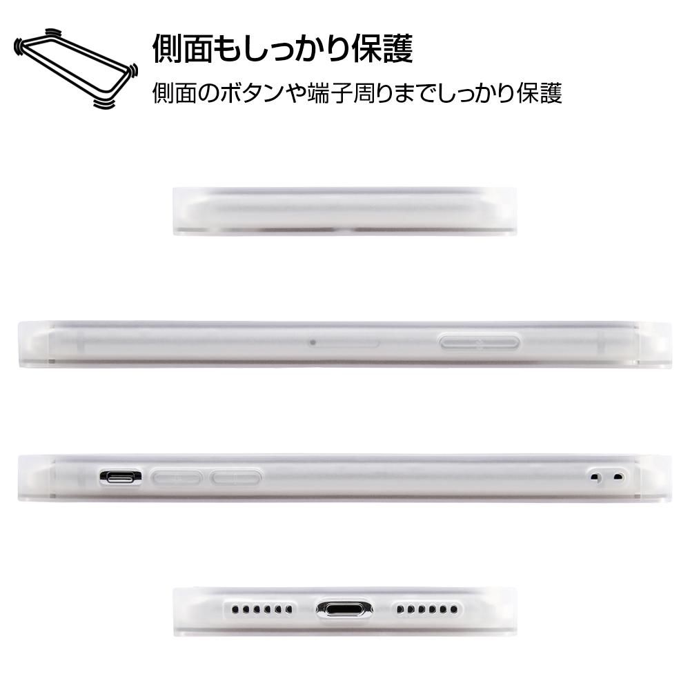 iPhone XS / X /『ディズニーキャラクター』/耐衝撃ガラスケース KAKU/『くまのプーさん/ボタニカル』_02【受注生産】