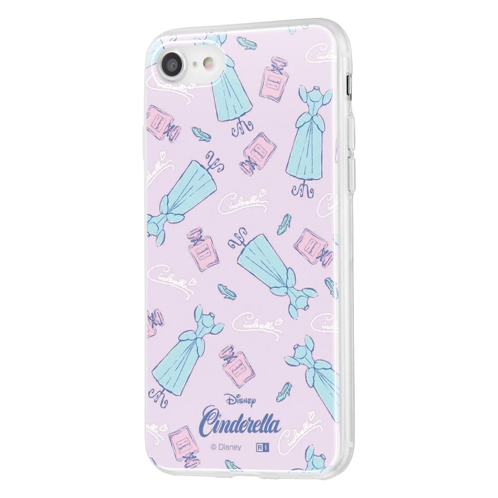 iPhone SE(第2世代)/8 / 7 /『ディズニーキャラクター』/TPUケース+背面パネル/『シンデレラ/パウダールーム』【受注生産】