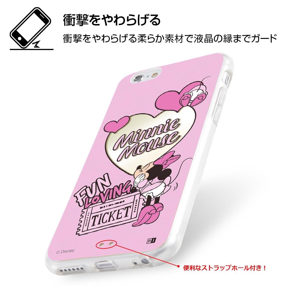 iPhone 6s / 6 /『ディズニーキャラクター』/ハイブリッドケースミラー/『デイジーダック/Powder Room』【受注生産】
