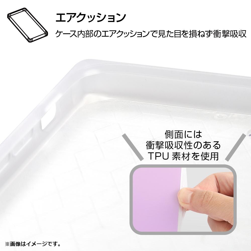 iPhone XS / X /『ディズニーキャラクター』/耐衝撃ガラスケース KAKU/『くまのプーさん/ボタニカル』_03【受注生産】