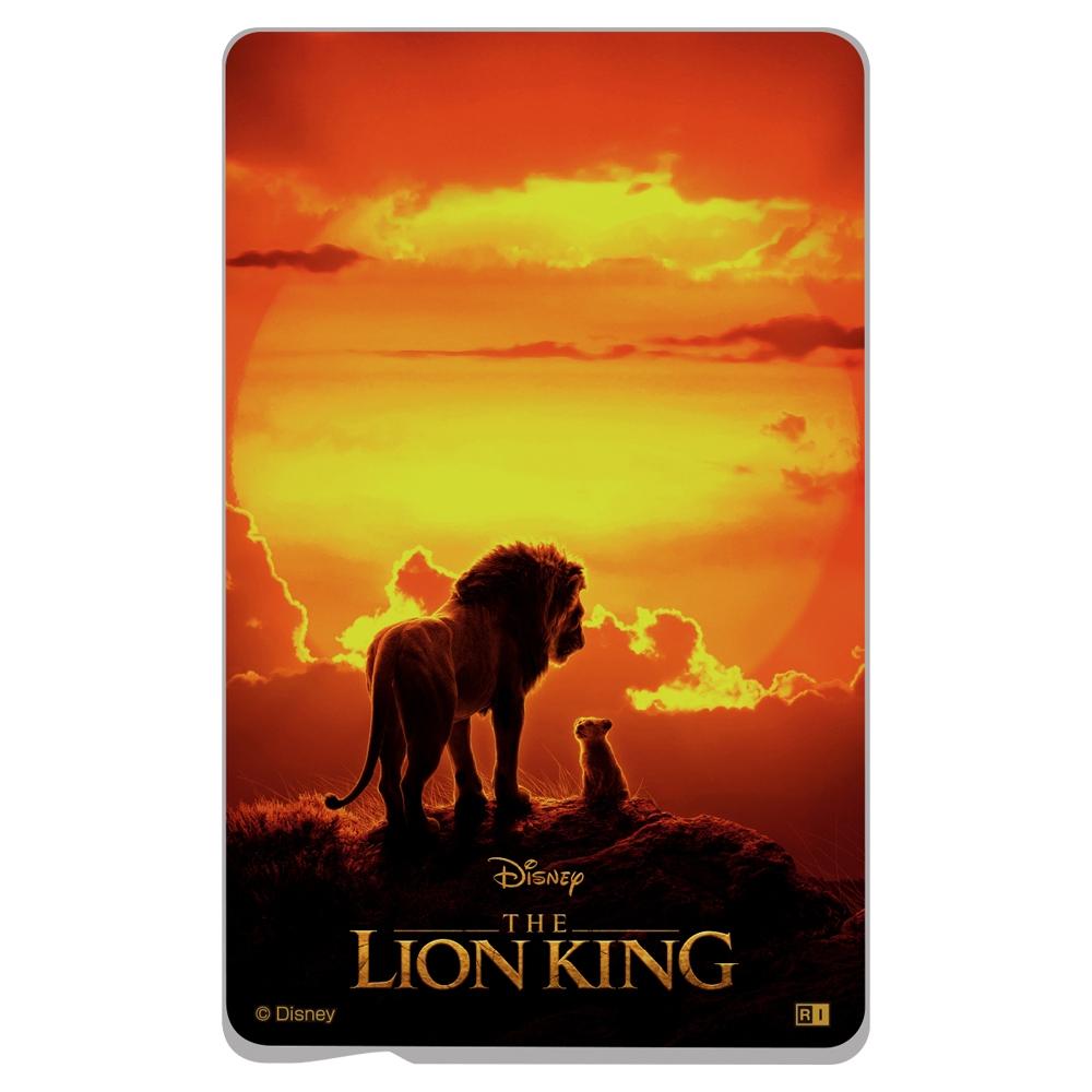 「ディズニー映画『ライオン・キング』」/ICカードステッカー『ライオン・キング/ポスター』