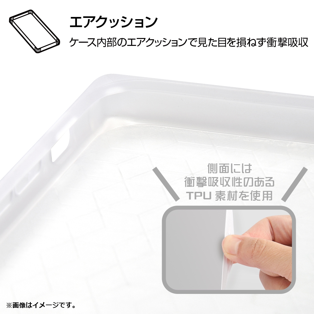 iPhone XR/耐衝撃ケース KAKU トリプルハイブリッド ミッキーマウス/Beach is Best【受注生産】