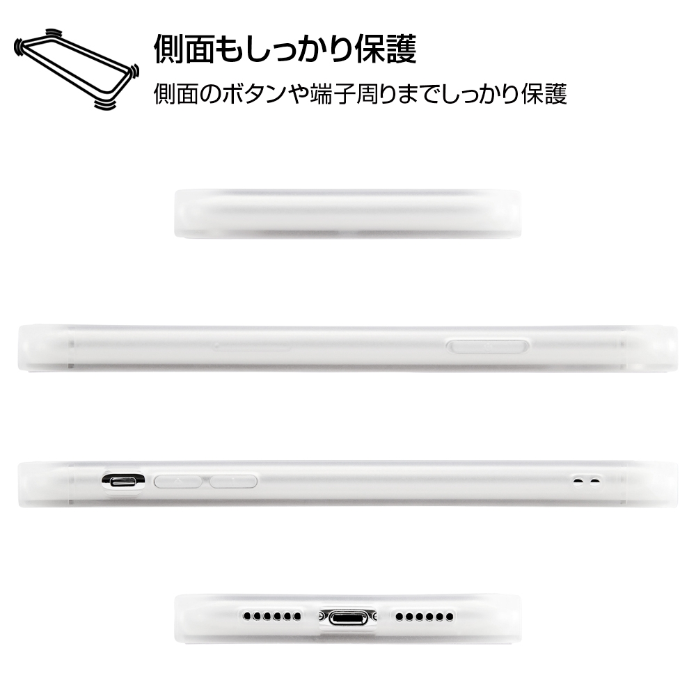 iPhone XR/耐衝撃ケース KAKU トリプルハイブリッド ミッキーマウス/Happy Surf【受注生産】