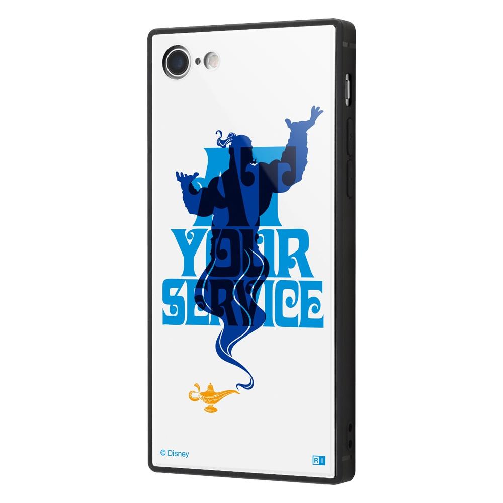 iPhone SE(第2世代)/8/ 7 /「ディズニー映画『アラジン』」/耐衝撃ケース KAKU トリプルハイブリッド/『アラジン/世界最強の魔人』【受注生産】
