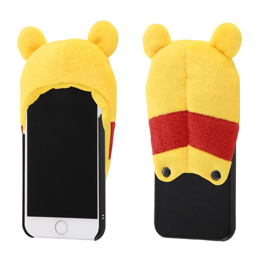 iPhone SE(第2世代)/8/7/6s/6 『ディズニーキャラクター』/きゃらぐるみケース/プー