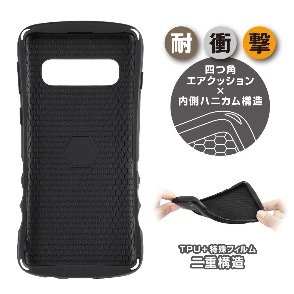 Galaxy S10 『ディズニーキャラクター』/耐衝撃ケース Grip/ミニー
