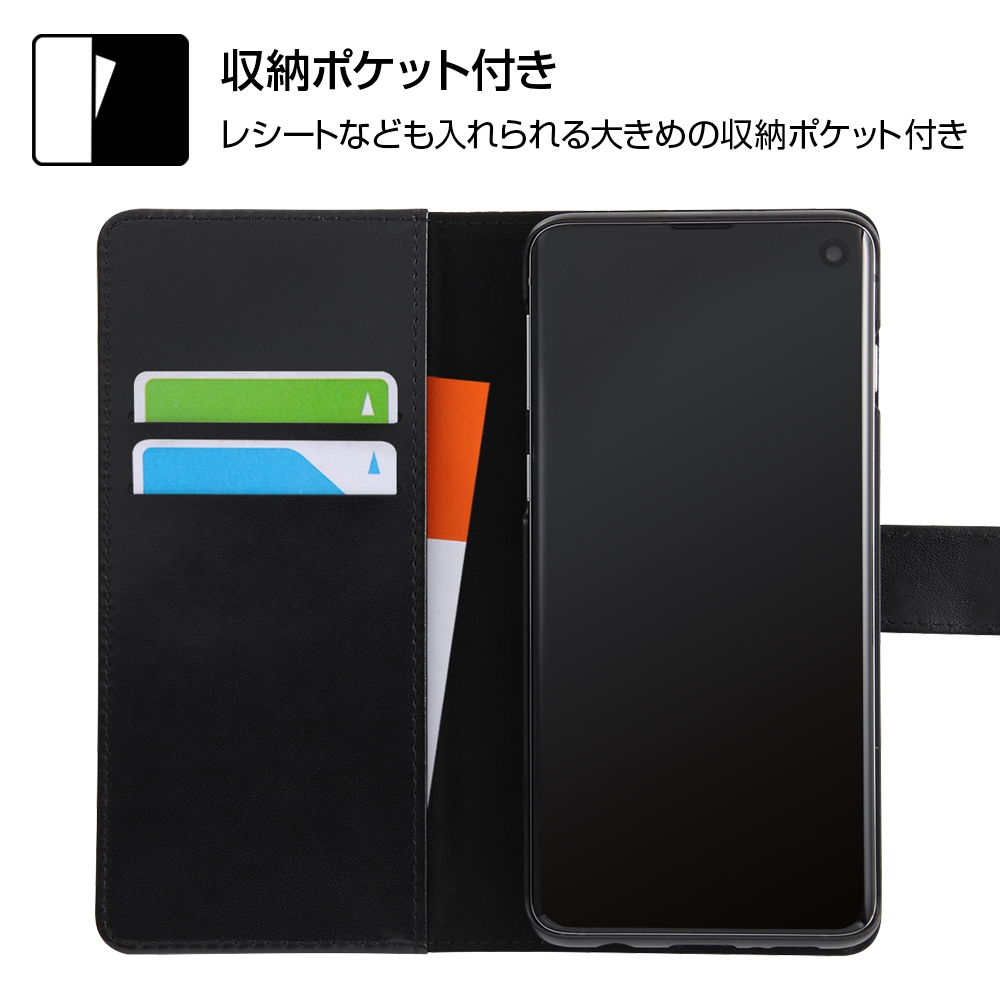 Galaxy S10 『ディズニーキャラクター』/手帳型アートケース マグネット/ドナルド_001