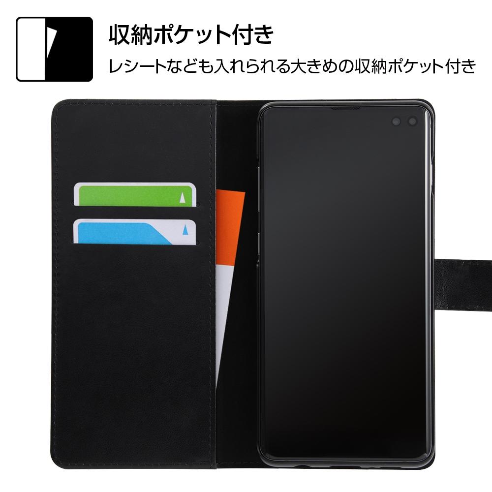 Galaxy S10+ 『ディズニーキャラクター』/手帳型アートケース マグネット