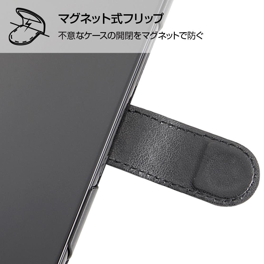 Xperia 1 『ディズニーキャラクター』/手帳型アートケース マグネット/ミニーマウス_016