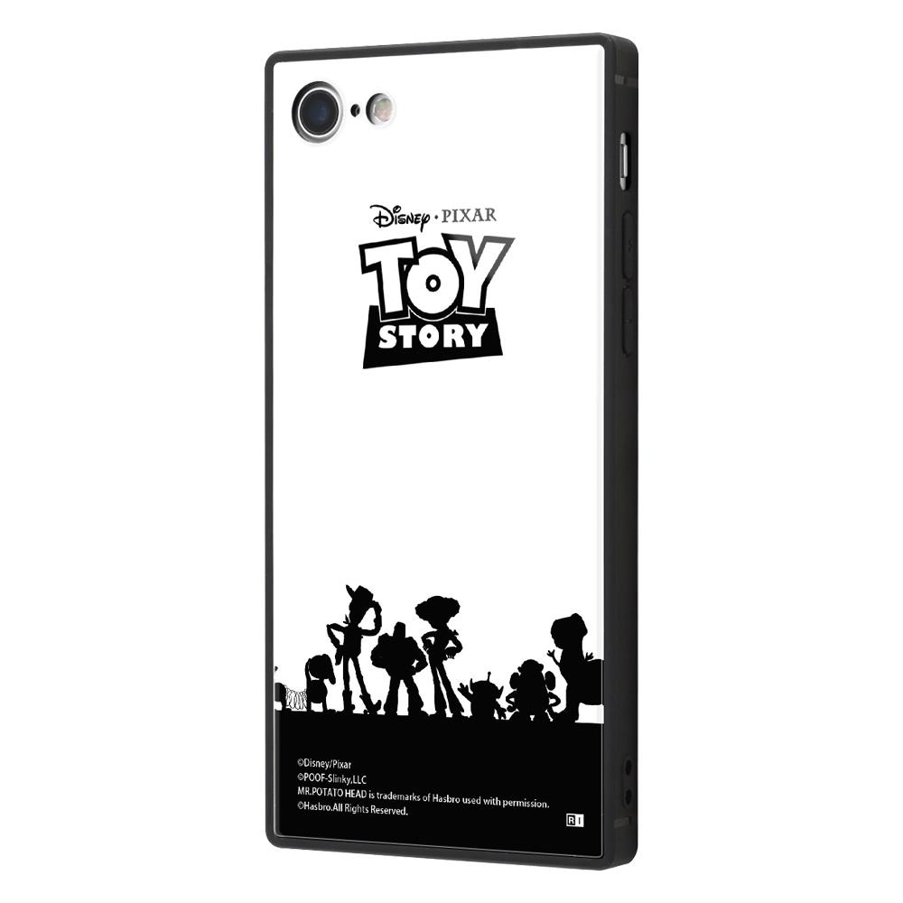 iPhone SE(第2世代)/8/ 7 /『トイ・ストーリー』/耐衝撃ケース KAKU トリプルハイブリッド/『トイ・ストーリー/シルエット』【受注生産】