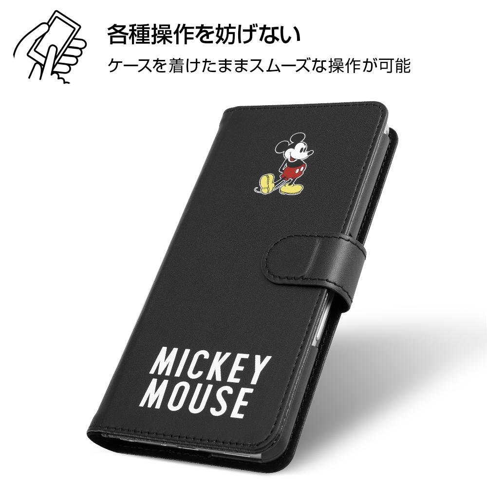 arrows Be3 『ディズニーキャラクター』/手帳型アートケース マグネット/ミッキーマウス_025