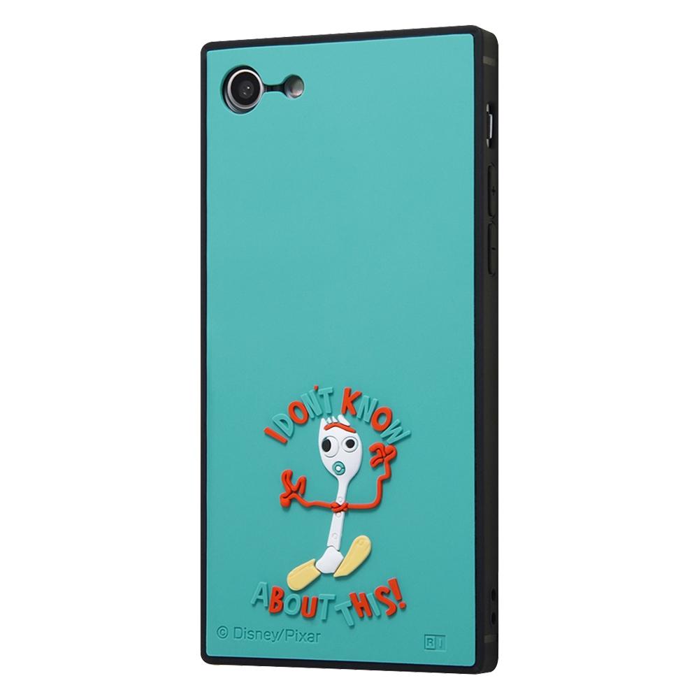 iPhone SE(第2世代)/8/ 7  『ディズニー・ピクサーキャラクター』/耐衝撃ハイブリッド シリコン KAKU/ 『トイ・ストーリー/フォーキー』
