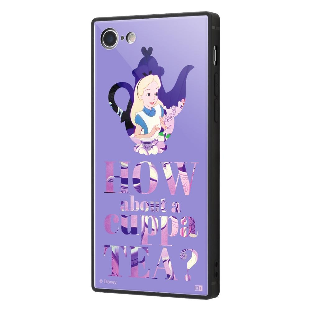 iPhone 8 / 7 /『ディズニーキャラクター』/耐衝撃ケース KAKU トリプルハイブリッド/『ふしぎの国のアリス/Famous scene』【受注生産】