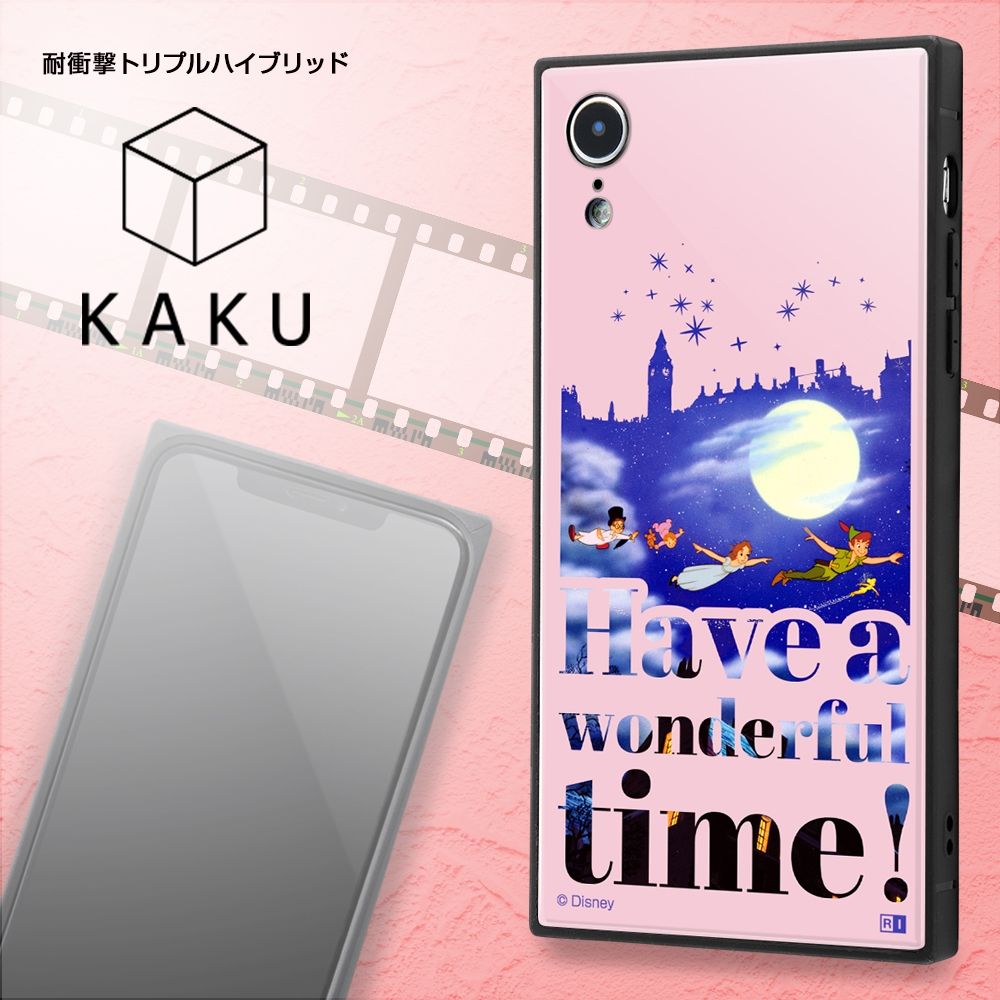 iPhone XR /『ディズニーキャラクター』/耐衝撃ケース KAKU トリプルハイブリッド/『ふしぎの国のアリス/Famous scene』【受注生産】