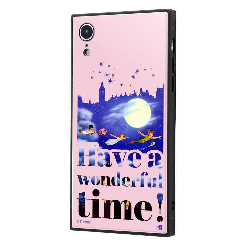iPhone XR /『ディズニーキャラクター』/耐衝撃ケース KAKU トリプルハイブリッド/『ピーター・パン/Famous scene』【受注生産】