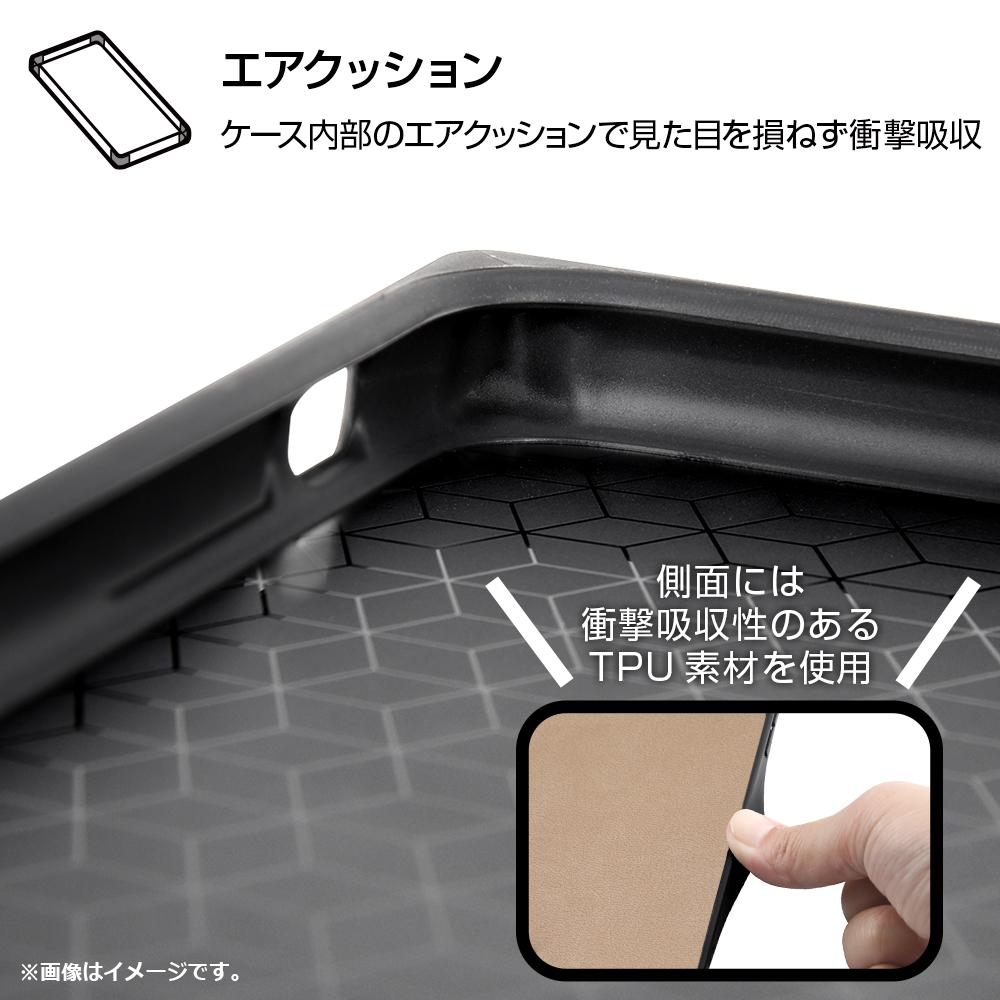 iPhone 11 『ディズニーキャラクター』/耐衝撃オープンレザーケース KAKU/ドナルド