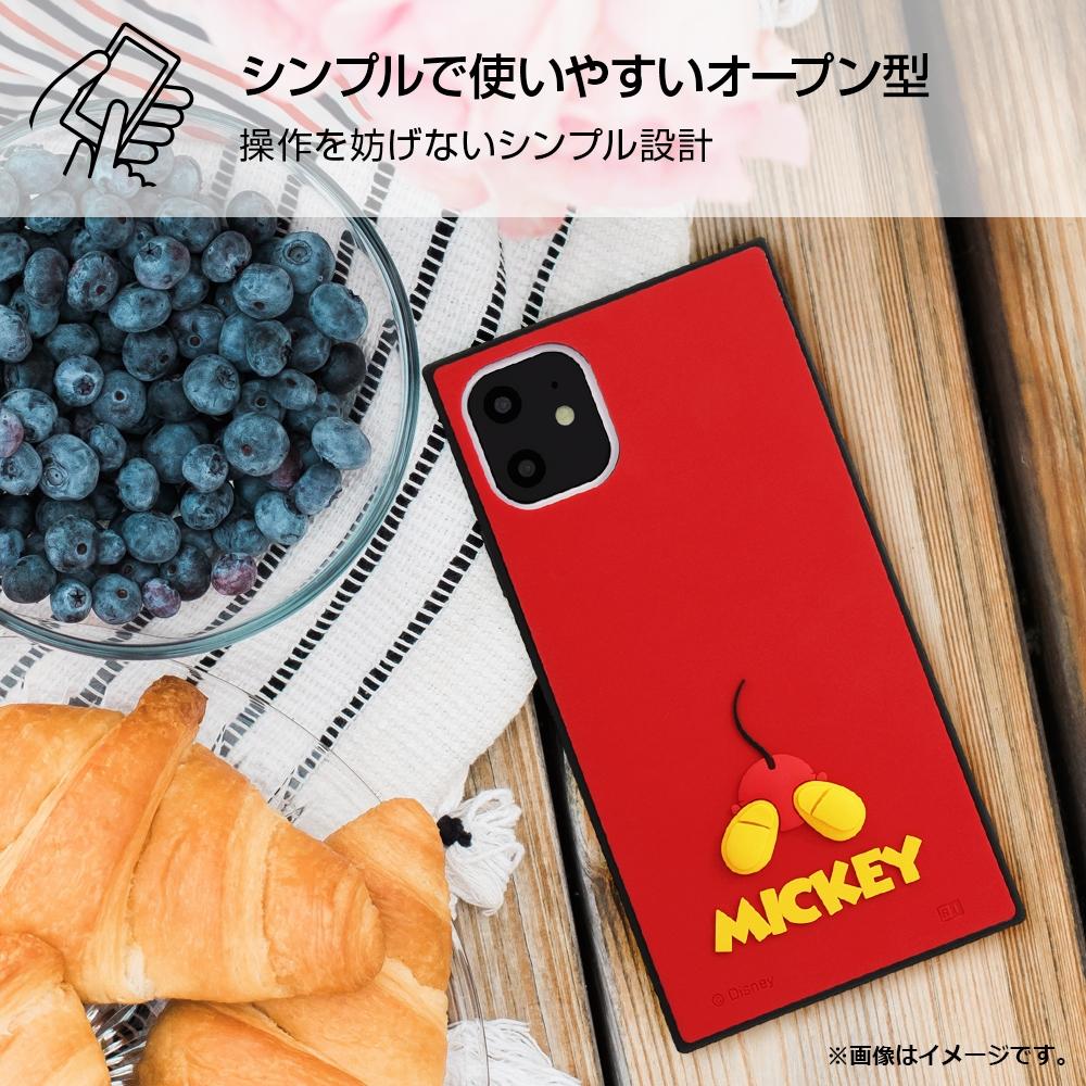 iPhone 11 『ディズニーキャラクター』/耐衝撃ハイブリッドケース シリコン KAKU/ドナルド