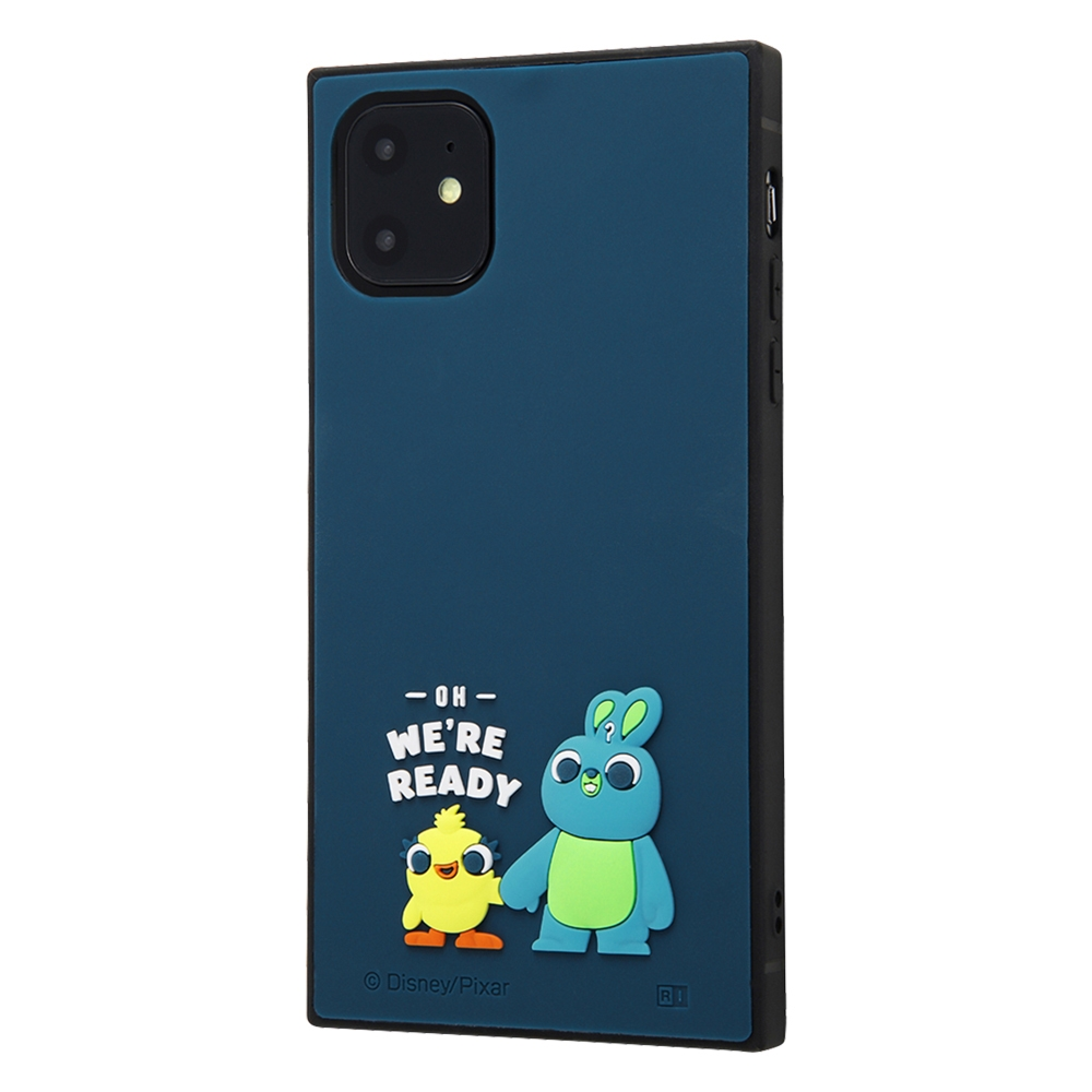 iPhone 11 『ディズニー・ピクサーキャラクター』/耐衝撃ハイブリッド シリコン KAKU/ 『トイ・ストーリー/ダッキー&バニー』