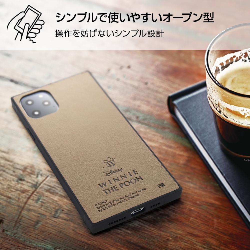 iPhone 11 Pro Max 『ディズニーキャラクター』/耐衝撃オープンレザーケース KAKU/『ミッキー』