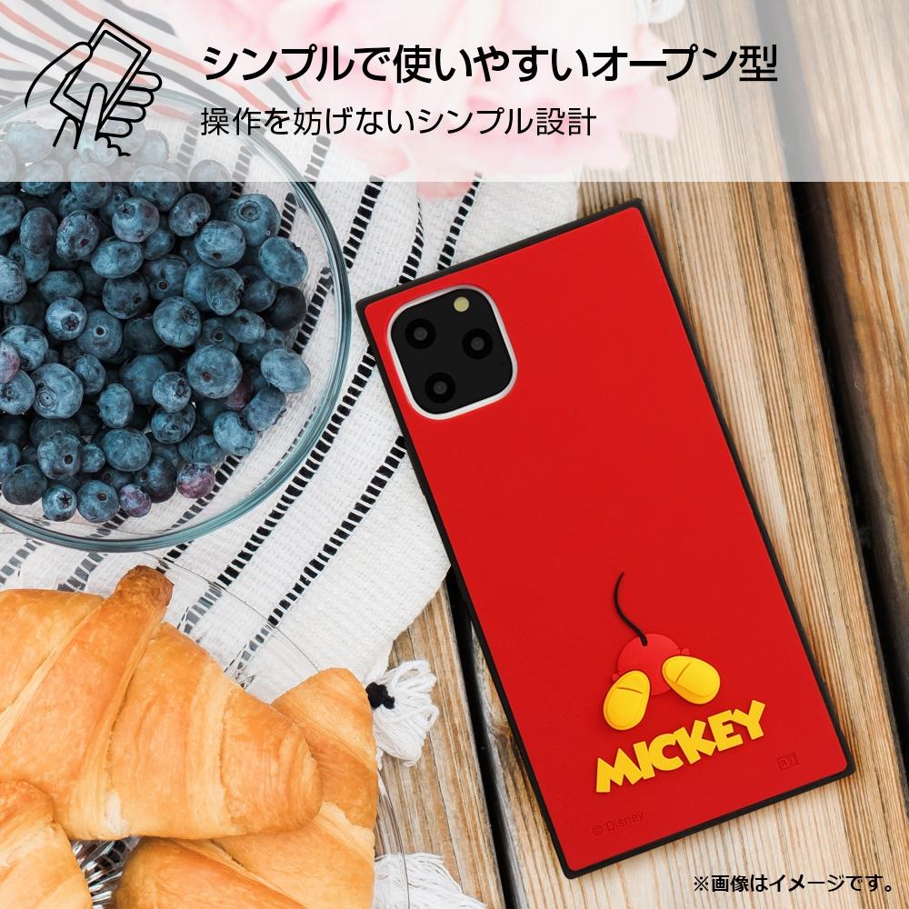 iPhone 11 Pro Max 『ディズニーキャラクター』/耐衝撃ハイブリッドケース シリコン KAKU/『ミッキー』