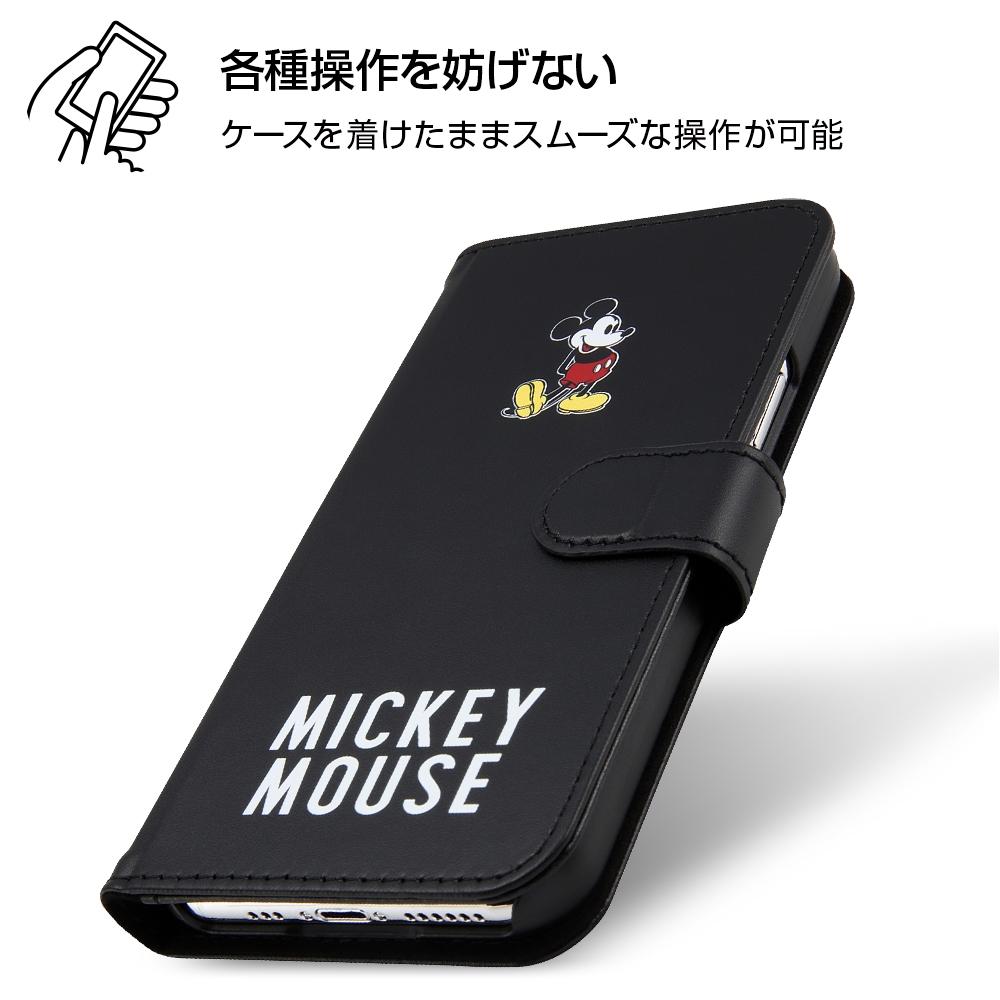 iPhone 11 Pro 『ディズニーキャラクター』/手帳型アートケース マグネット/ミッキーマウス_025