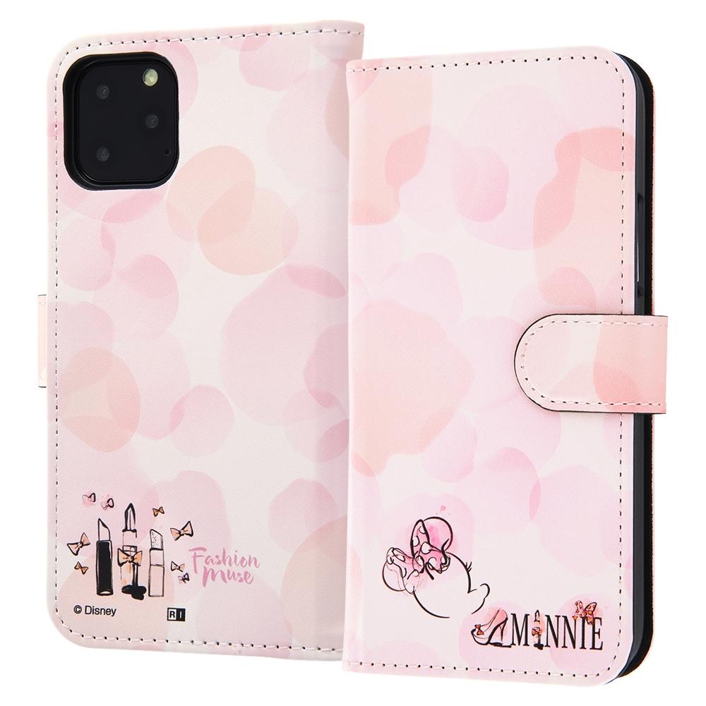 iPhone 11 Pro 『ディズニーキャラクター』/手帳型アートケース マグネット/ミニーマウス_016