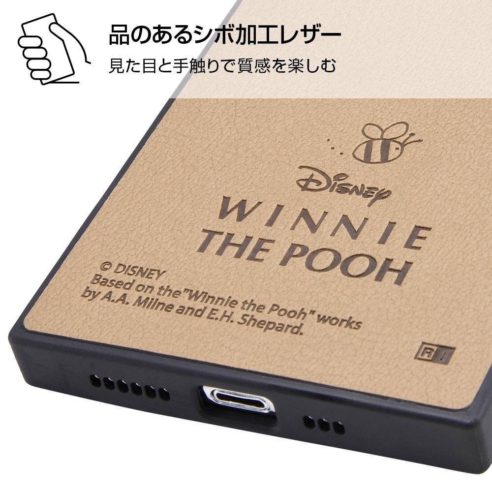 iPhone 11 Pro 『ディズニーキャラクター』/耐衝撃オープンレザーケース KAKU/プー