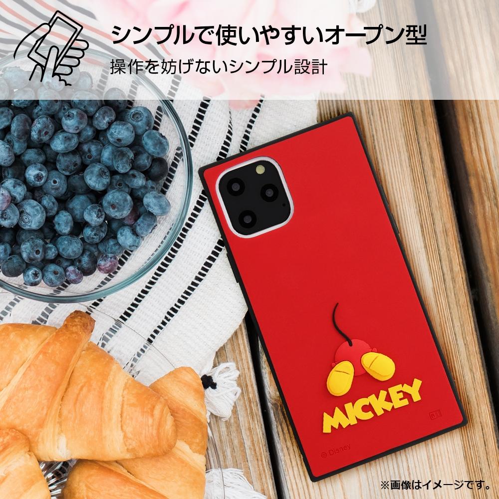 iPhone 11 Pro 『ディズニーキャラクター』/耐衝撃ハイブリッドケース シリコン KAKU/ミッキー