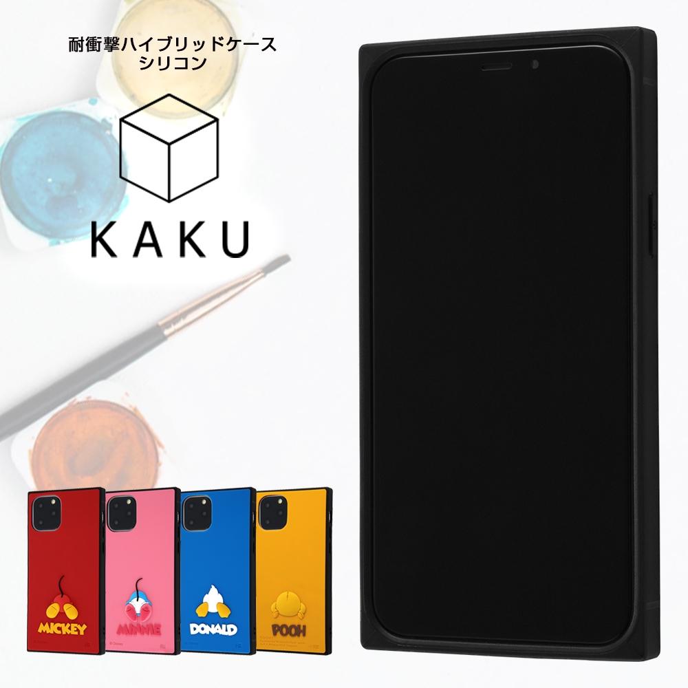 iPhone 11 Pro 『ディズニーキャラクター』/耐衝撃ハイブリッドケース シリコン KAKU/ミニー