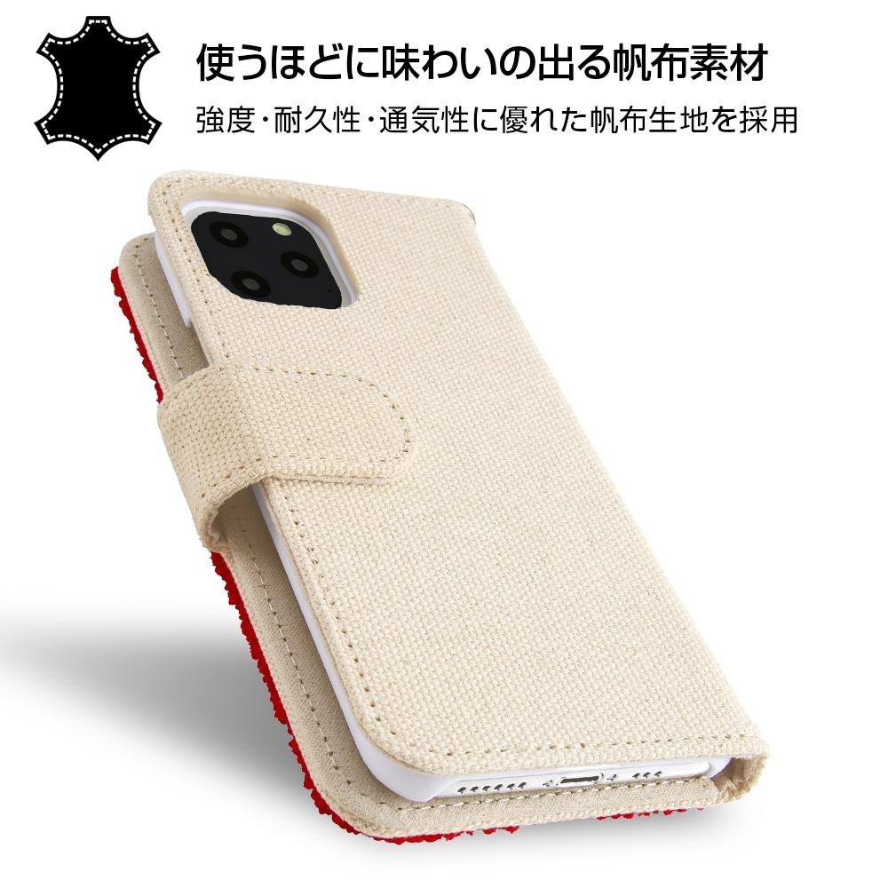 iPhone 11 Pro 『ディズニーキャラクター』/手帳型ケース サガラ刺繍/ミニー