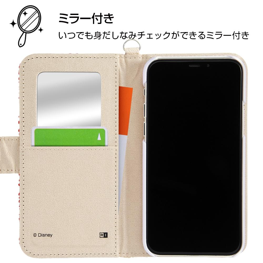 iPhone 11 Pro 『ディズニーキャラクター』/手帳型ケース サガラ刺繍/チップ&デール