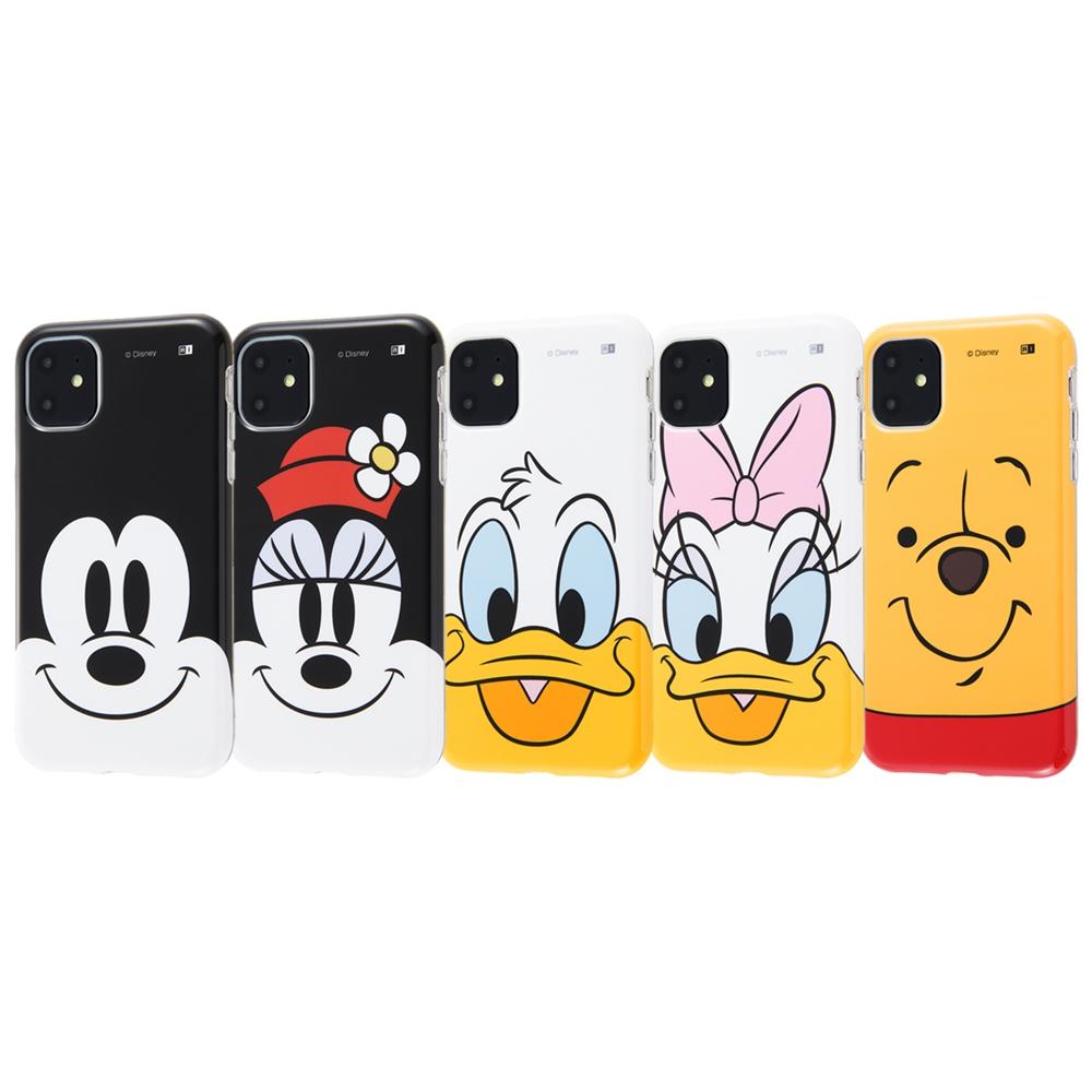 iPhone 11 『ディズニーキャラクター』/TPUソフトケース クローズアップ/ドナルド