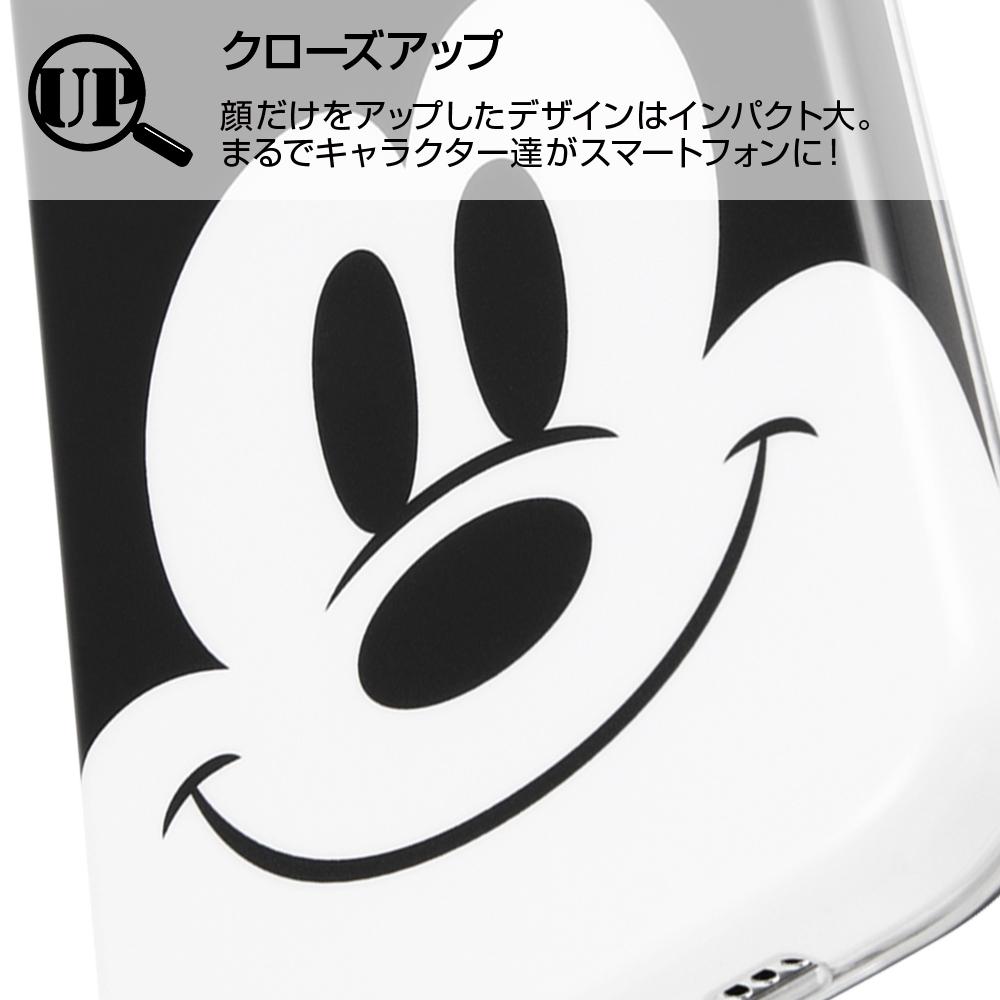 iPhone 11 Pro 『ディズニーキャラクター』/TPUソフトケース クローズアップ/ミッキー